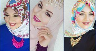 صورة اجمل لفات حجاب , اختاري من بين اللفات لفه حجاب تليق بوجهك