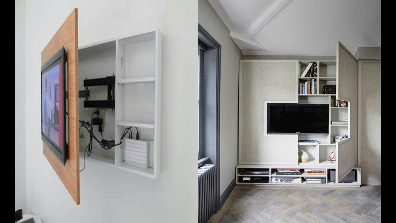 صورة ديكورات شاشات بلازما على الحائط , جدد ديكور بيتك باحدث ديكورات شاشات بلازما